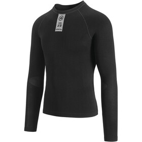 assos Skinfoil Spring Fall LS Base Layer black series